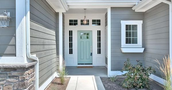 amherst gray by benjamin moore with front door painted. Black Bedroom Furniture Sets. Home Design Ideas