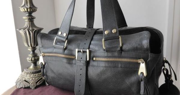 Mulberry Large Mabel In Black Goatskin Leather Sold