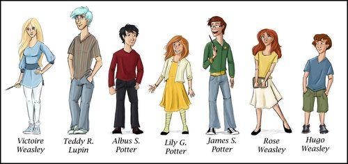 The New Kids From Harry Potter Fan Art Harry Potter Next Generation Harry Potter Next Generation Harry Potter Fan Art Harry Potter Kids