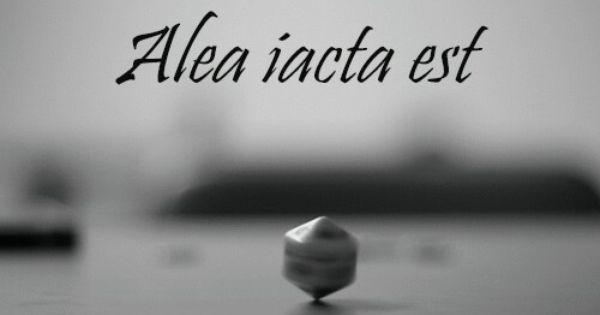 Alea Iacta Est Citas En Latin Poemas Tatuajes