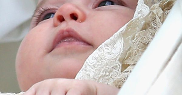 Princess Charlotte of Cambridge is pushed in her silver cross pram as
