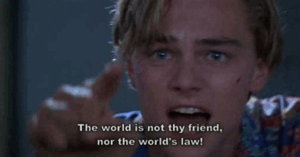 Romeo And Juliet Quotes Movie Quotes Romeo And Juliet Quotes Leonardo Dicaprio Romeo Famous Movie Quotes