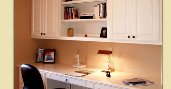 Built in bookshelf/desk I want smaller version for my kitchen one day. | My Dream Home ...