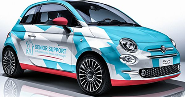 Check Out New Work On My Behance Portfolio Fiat 500 Wrapping