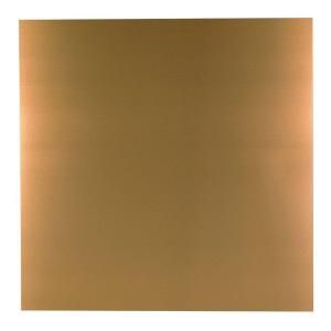 M D Building Products 36 In X 36 In Copper Aluminum Sheet 57526 The Home Depot In 2020 Aluminum Sheet Metal M D Building Products Natural Sheets