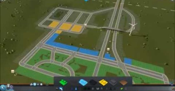 Cities Skylines Speed Build Just The Basic City Layout 4x Speed City Skylines Game City Layout We Built This City