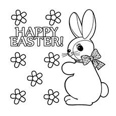 15 Best Easter Bunny Coloring Pages Your Toddler Will Love To