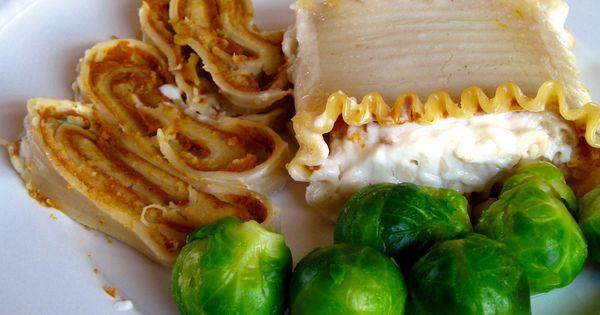 Vegan Pumpkin Lasagna vegetable vegan replace cheese with tofu