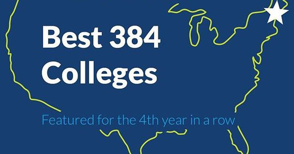 For The Fourth Year In A Row We Have Been Featured In Princeton Reviews Best 384 Colleges Guide The Publication Newly College Guide Princeton Review Princeton