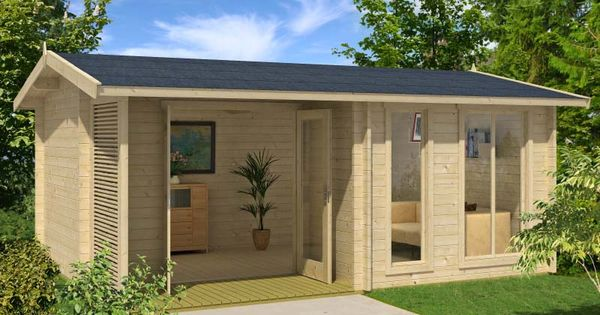 Mooncliff Cabin Kit Gardens Small Log Cabin And Small 400 x 300
