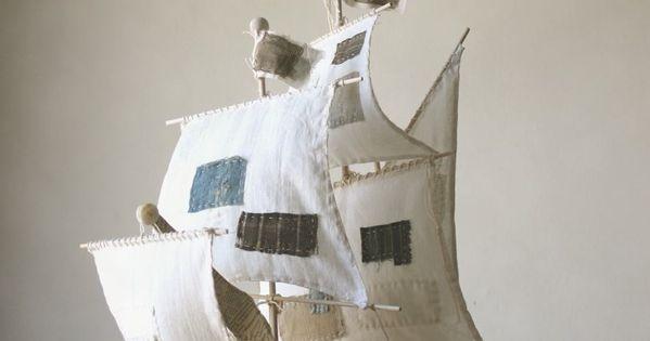 Paper mache boat | Art | Pinterest | Papier Mache, Papier Mache et