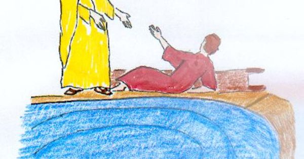 Jesus at the Pool of Bethesda Or Healing on a Sunday Z