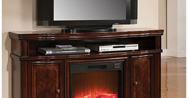 Big Lots Petite Foyer Fireplace : Quot cherry media electric fireplace with doors at big lots
