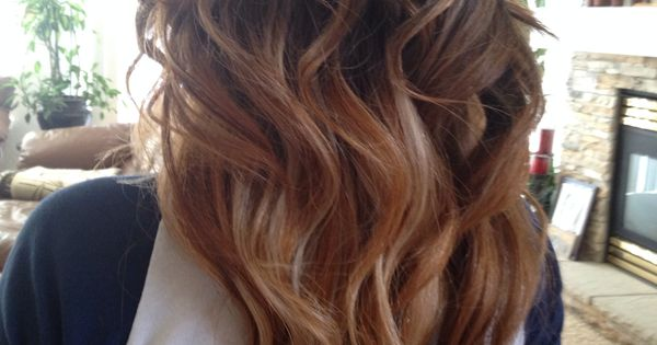Black to brown ombre with blonde   Hair & Beauty