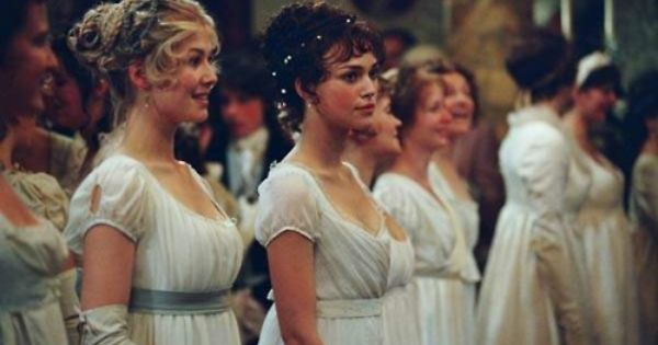 Empire dress in movies based on Jane Austen's books- In the movie