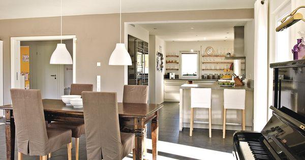 wohnkueche #kueche #offenekueche #kuecheninsel #interiordesign - küche weiß matt