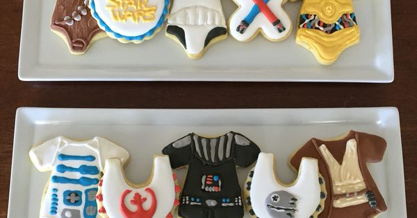Cookies I Made For A Star Wars Baby Shower Sugar