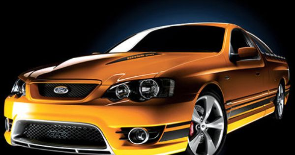 Fpv Bf Mkii Pursuit 2006 Ford Mustangs Pinterest