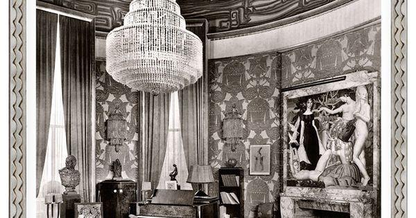 Galerie seru emile jacques ruhlmann grand salon circa - Salon art deco paris ...