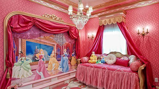 Princess Themed Room Decorating Ideas