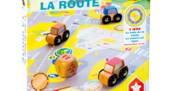 ce jeu du code de la route est un jeu de plateau les joueurs ont chacun une voiture et une. Black Bedroom Furniture Sets. Home Design Ideas