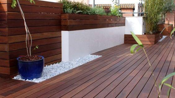 Decoraci n de exteriores con pisos de madera terraced for Pisos de madera para exteriores