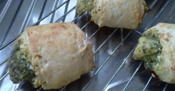 Pesto, Feta, and Sun-Dried Tomato Scones | Recipe | Scones, Feta and ...