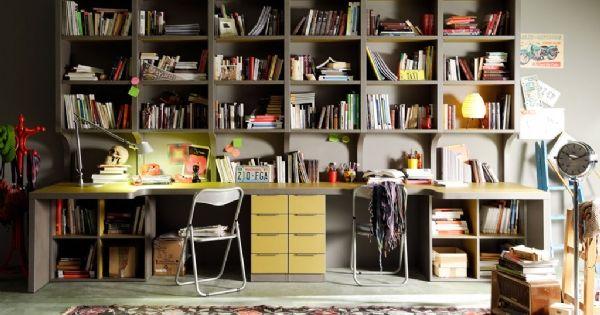 Mesa de estudio 2 personas escritorios - Mesas de estudio juveniles ...