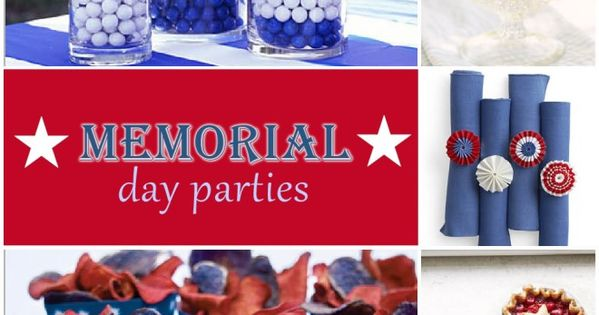 Parties | Fourth of July | Memorial Day | 4th of July