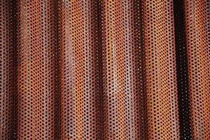 7 8 Quot Corrugated Corten I Have A Per Square Foot Price On This Perforated Metal Corten Metal Facade