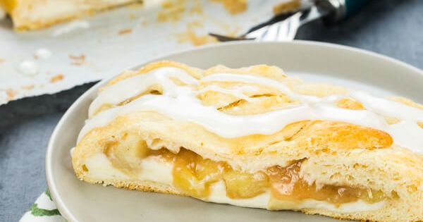 This Easy Apple Cream Cheese Danish Is A Tasty Addition To