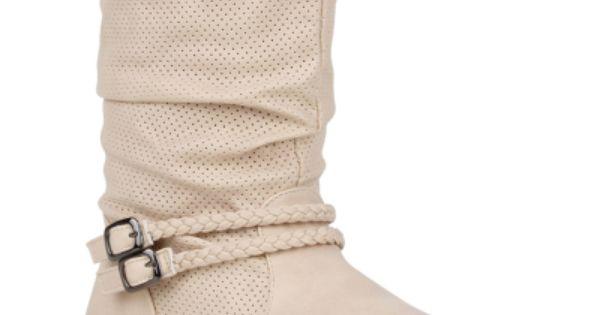 Damen Stiefeletten Schlupf Stiefel Beige Canete | Beige