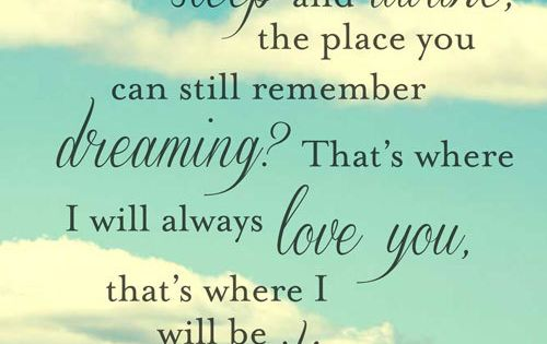 I dreamt of us last night. It was so good   Quotes at ...