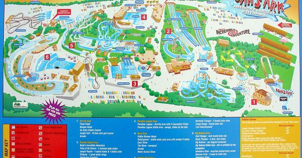 Noah S Ark Water Park Map Wisconsin Dells I Loved This