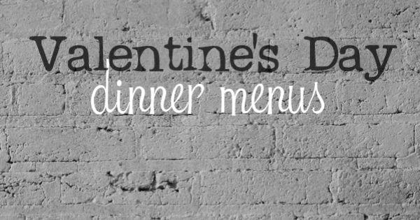 valentine day menu melting pot