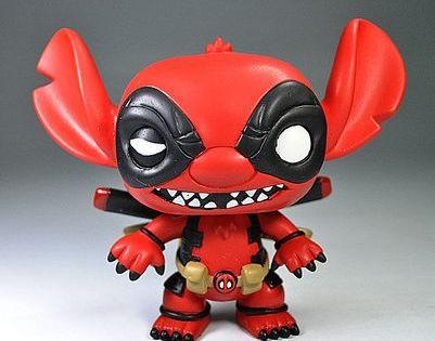 Funko Pop Deadpool Stitch Funko Pop Custom Action