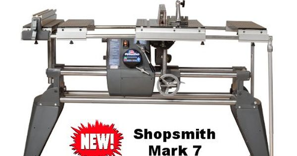 Shopsmith mark 7 table saw disc sander lathe for 10 inch sanding disc table saw