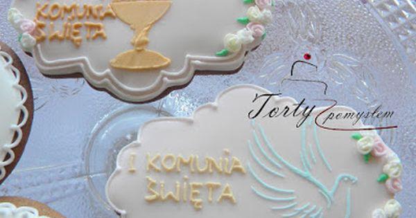 Pierniczki Krakow Komunia Cookies Childrens Party Sugar Cookie