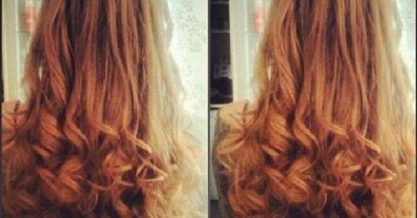 Braid Amp Curls Hairstyles For Long Hair Pinterest