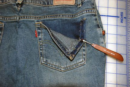 How to Embroider the Back Pocket of Your Favorite Pair of Jeans | Embroidery Machine embroidery ...