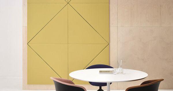 panneaux acoustiques d coratifs parentesit by arper. Black Bedroom Furniture Sets. Home Design Ideas