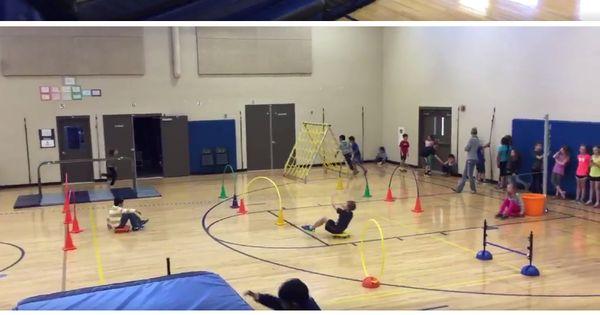 Ninja Warrior Obstacle Course For Pe Pe Teachers Ninja