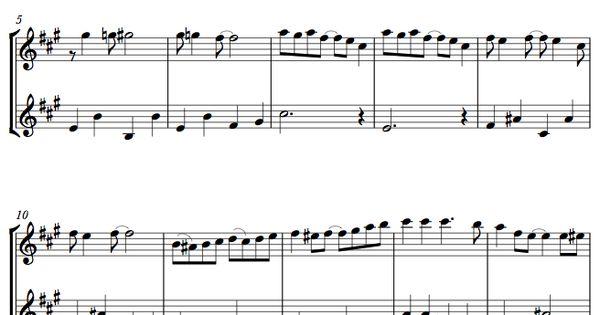 Musescore Violin Cello Duet – Fondos de Pantalla