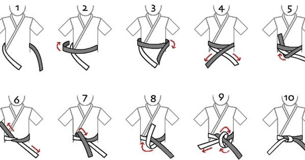 How To Tie Up A Taekwondo Belt Google Search Taekwondo Belts Taekwondo Karate Belt
