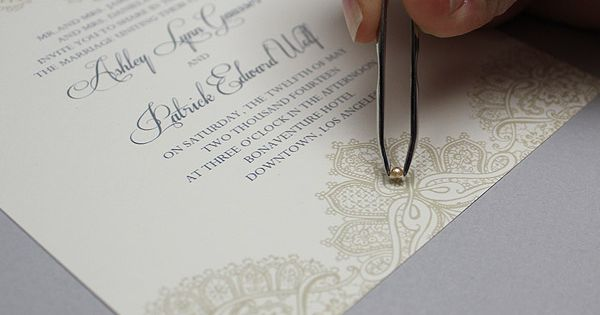 Do It Yourself Wedding Invitations Templates: Free Template: Lace & Pearls Wedding Invitation Set