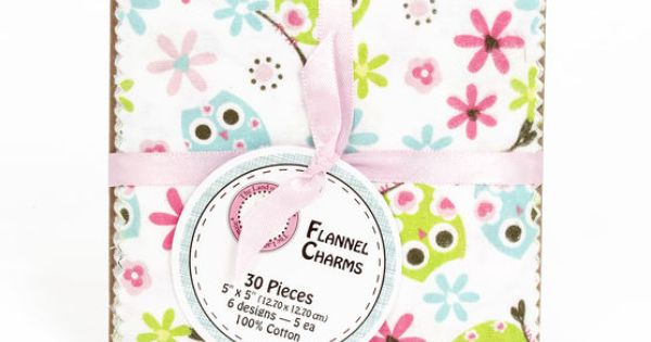 Land Of Whimzie Sweet Chic Flannel Charms Crafts To Do