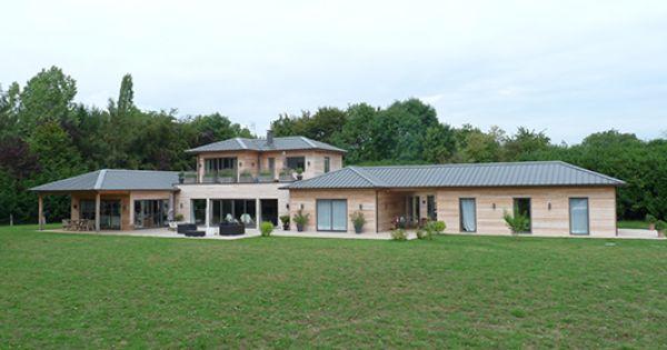 Maison de campagne salon maison bois angers salle for Salon maison de campagne