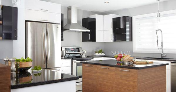 Armoires de cuisine de style contemporaine cuisines for Armoires de cuisine contemporaine