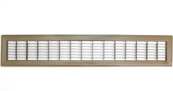 4 X 24 Heavy Duty Floor Grille Fixed Blades Brown You Can Find Out More Details At The Link Of The Image Flooring Grilles Heavy Duty