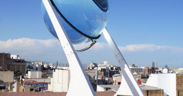 Plus fort qu un panneau ce superbe globe d multiplie l for Qu est ce qu un panneau solaire